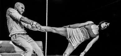 Taller de recursos acrobàtics en el teatre físic